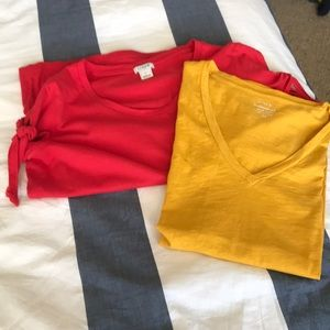 J. Crew shirts (2-for-1 deal)